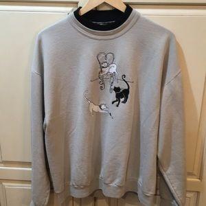 Vote 90s Siamese cats crewnecks sweatshirt L